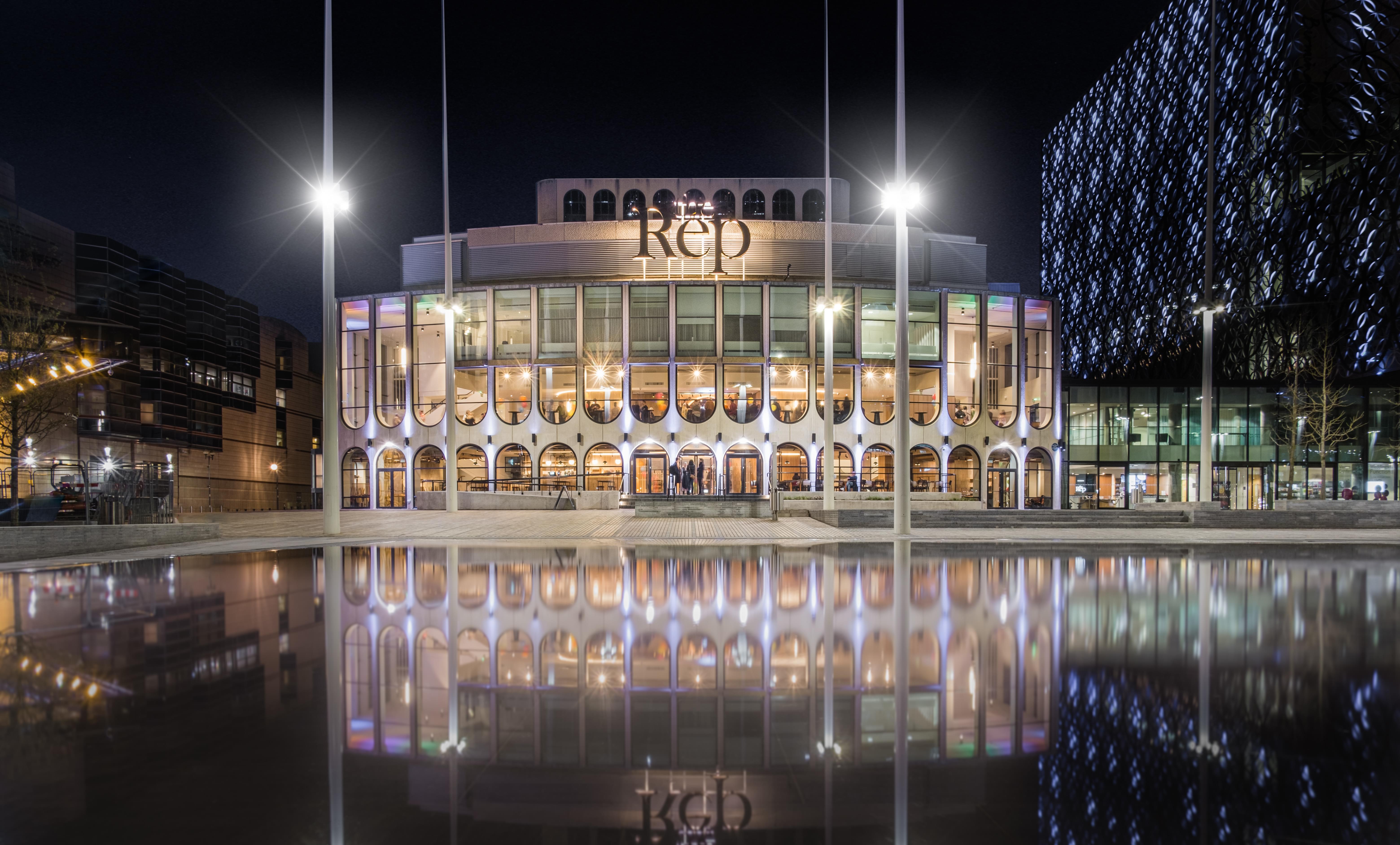 Birmingham Rep in Centenary Square, Birmingham